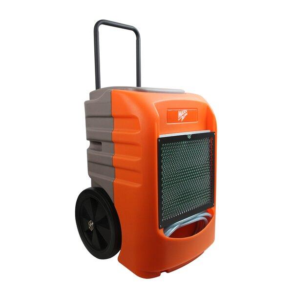 Rotational Molded Portable Commercial 145 Pint Dehumidifier by MaxxAir