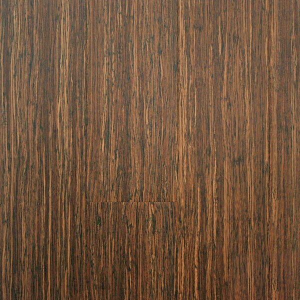 ColorFusion 5 Engineered Strandwoven Bamboo Flooring in Crushed Wheat by ECOfusion Flooring