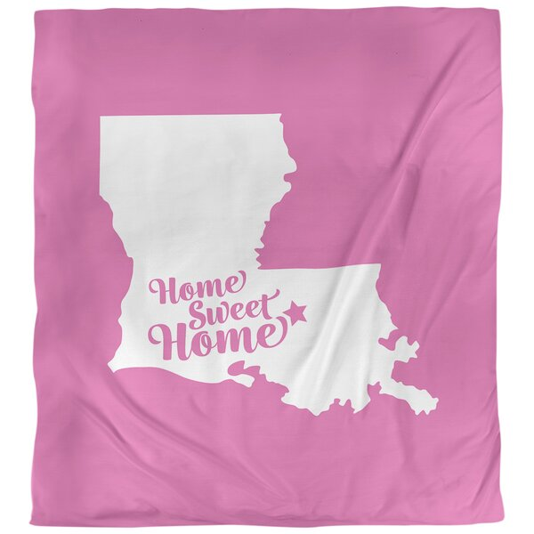 Baton Rouge Home Sweet Single Duvet Cover