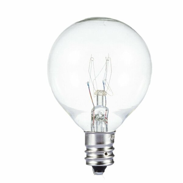 10W E12/Candelabra Incandescent Vintage Filament Light Bulb (Set of 30) by Newhouse Lighting