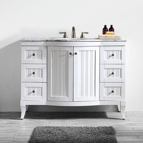Saint 48 Single Bathroom Vanity Set by Beachcrest Home