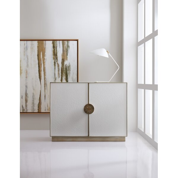 Melange Darcy Crackle 2 Door Accent Cabinet by Hooker Furniture