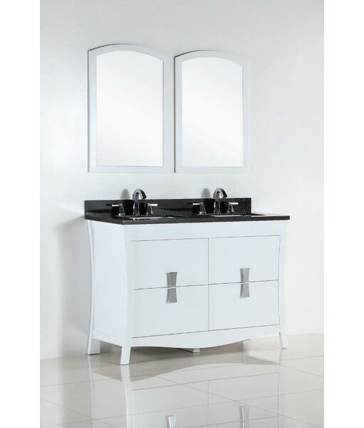 48 Double Bathroom Vanity Set by Bellaterra Home