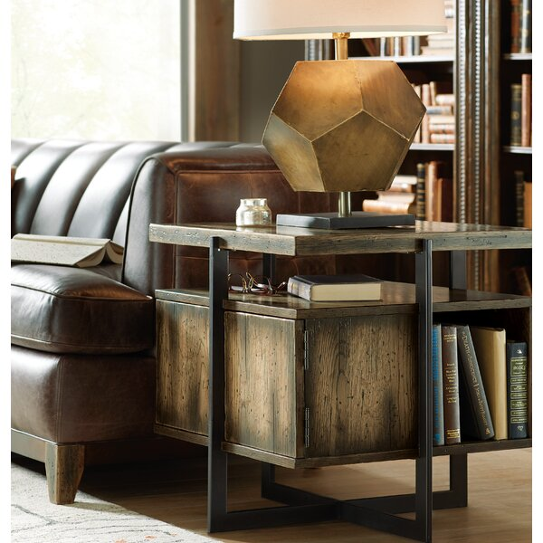 Crafted Lamp End Table by Hooker Furniture
