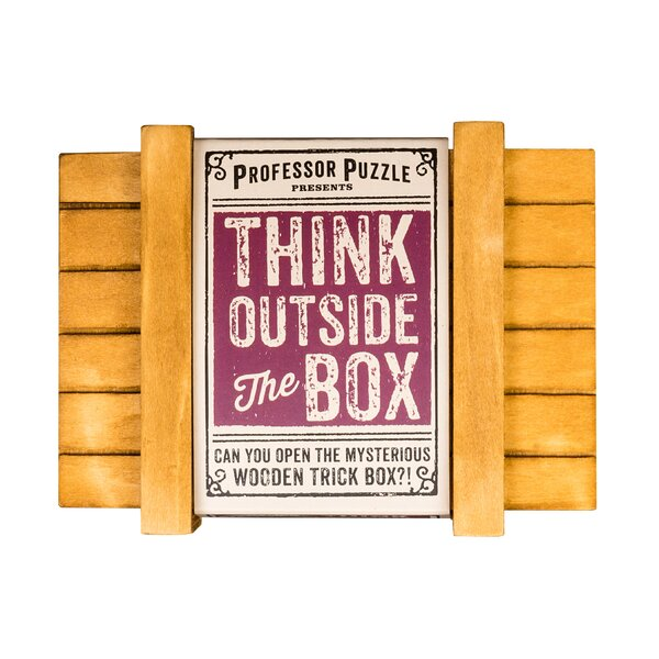 Puzzle Academy Think Outside the Box by Professor Puzzle USA, Inc.