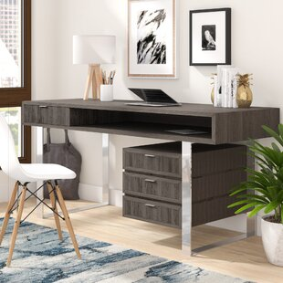 Razo Solid Wood Writing Desk