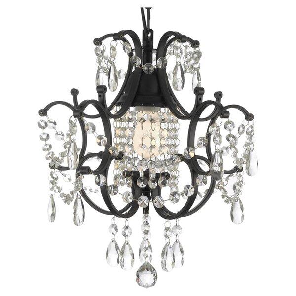 Alvan 1-Light  LED Lantern Pendant by Astoria Grand