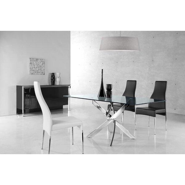 Jodi Upholstered Dining Chair (Set of 4) by Orren Ellis Orren Ellis