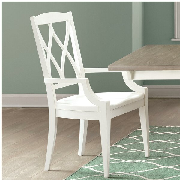 Remi Solid Wood Dining Chair (Set of 2) by August Grove