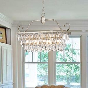 Gerhart 4-Light Crystal Chandelier