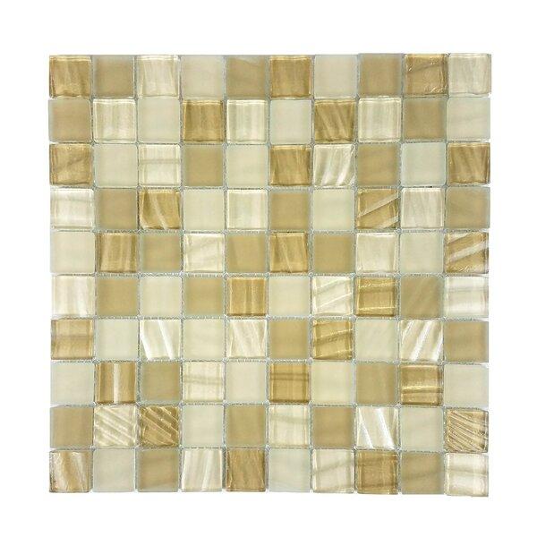 New Era 1.25 x 1.25 Slate Mosaic Tile in Beige by Abolos