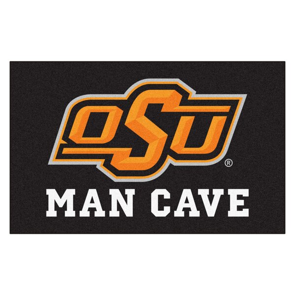 Collegiate NCAA Oklahoma State University Man Cave Doormat by FANMATS