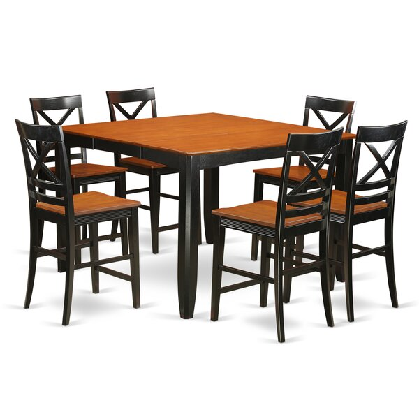 Krull 9 Piece Counter Height Pub Table Set by Red Barrel Studio