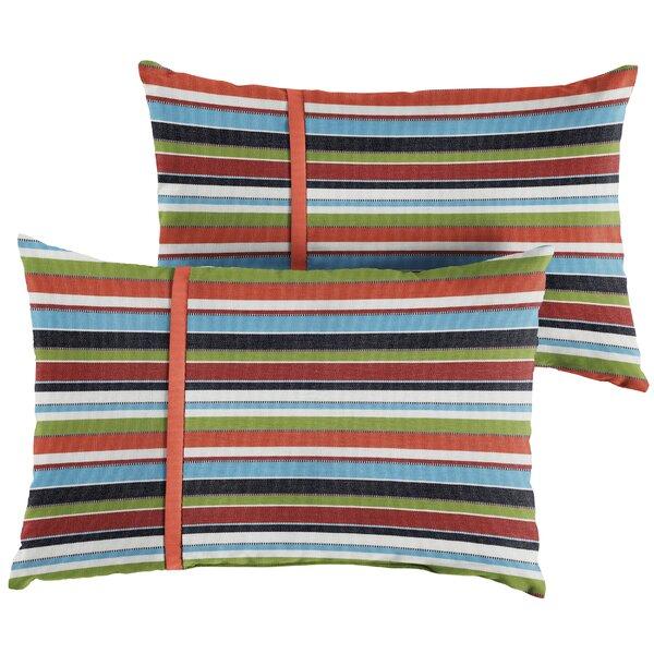 Vankirk Indoor/Outdoor Lumbar Pillow (Set of 2) by Red Barrel Studio