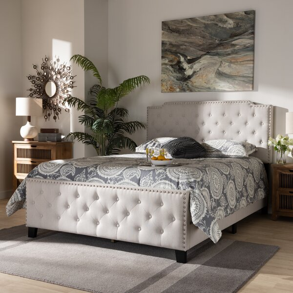 Ardzan Upholstered Standard Bed by Winston Porter