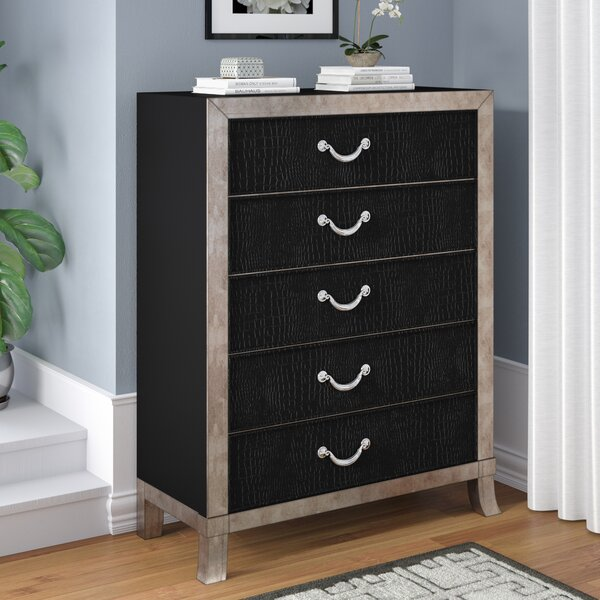 Berthe 5 Drawer Chest by Willa Arlo Interiors