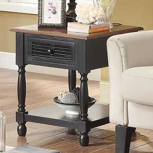 Hermila Rectangular End Table by Darby..