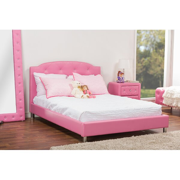Alessandra Upholstered Platform Bed by Mack & Milo