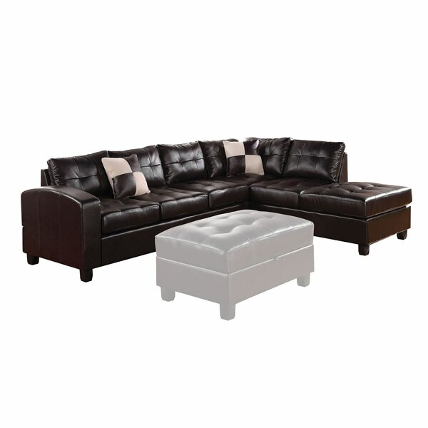 Chassidy Reversible Sectional with Ottoman by Latitude Run