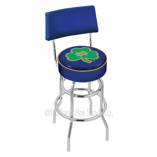 NCAA 30 Swivel Bar Stool by Holland Bar Stool