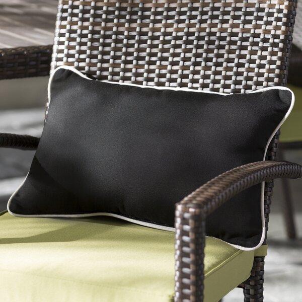 Hinojos Indoor/Outdoor Sunbrella Lumbar Pillow (Set of 2) by Brayden Studio