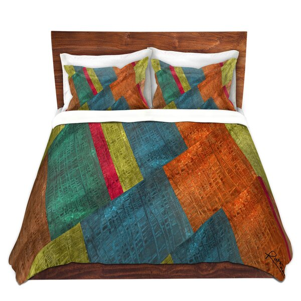 Shea Grid Duvet Cover Set