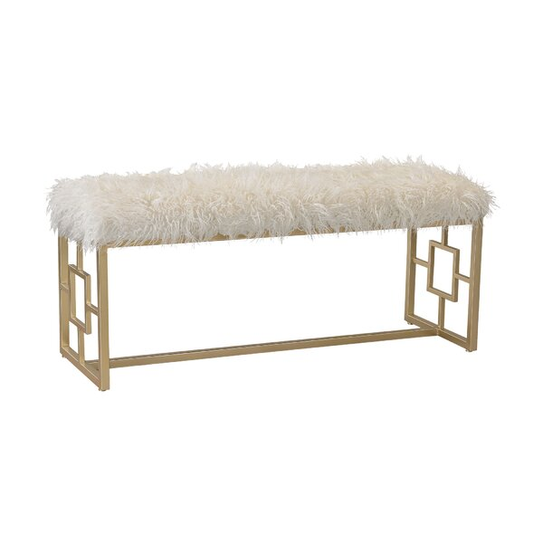 Scarlette Retro Upholstered Double Bench by Willa Arlo Interiors