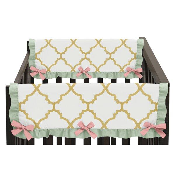 Ava Crib Side Rail Guard Cover (Set of 2) by Sweet Jojo Designs