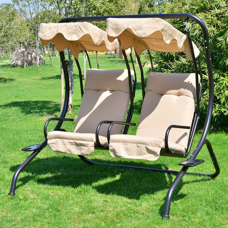 northbrook patio swing with stand - Patio Swing