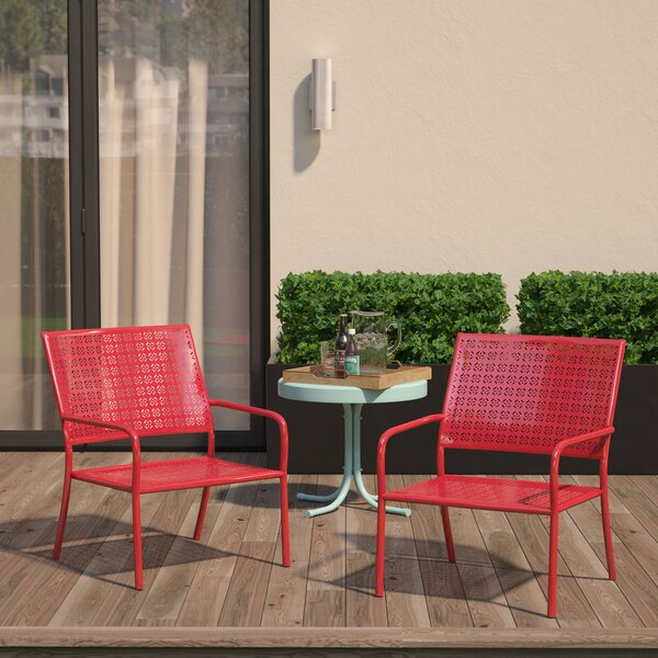 Latorre Lounge Chair (Set of 2) by Brayden Studio Brayden Studio