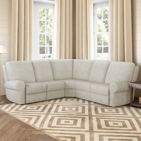 Podrick Symmetrical Reclining Sectional By Wayfair Custom Upholstery™