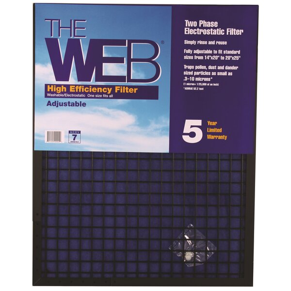 High Efficiency Air Conditioner Air Filter by WEB Products