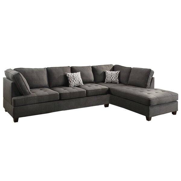 Allenhurst Right Hand Facing Sectional by Charlton Home Charlton Home