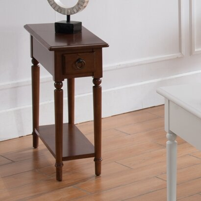 Husted End Table By Charlton Home