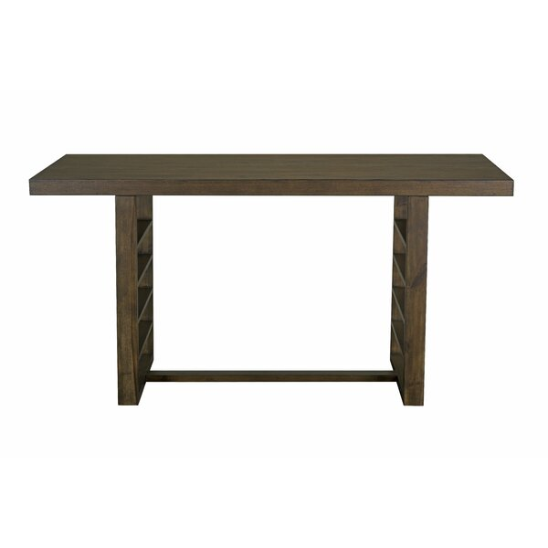 Occoquan Trestle Counter Height Dining Table by Gracie Oaks Gracie Oaks