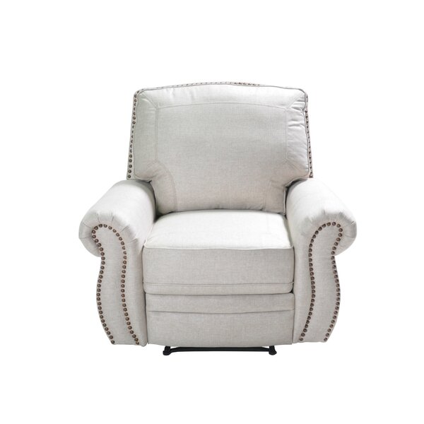 Castagna Manual Swivel Recliner by Fleur De Lis Living