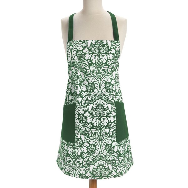 Damask Apron by Charlton Home