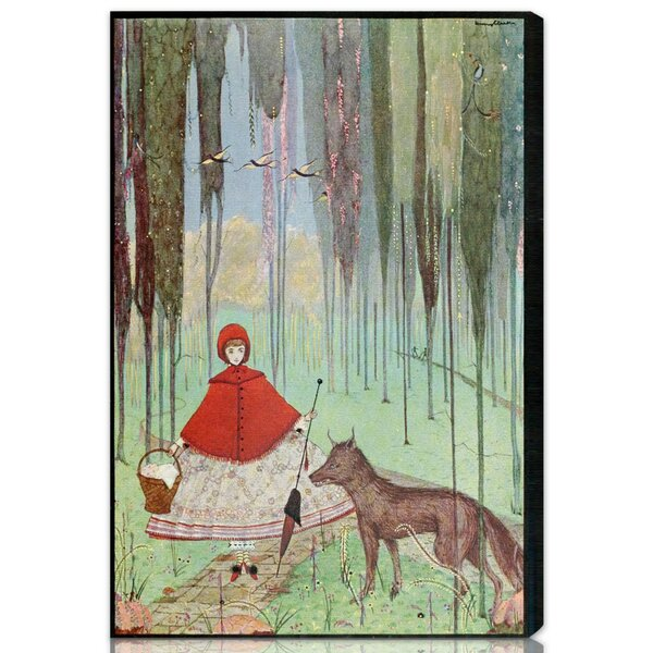 Abby Little Red Riding Hood Canvas Art by Zoomie Kids