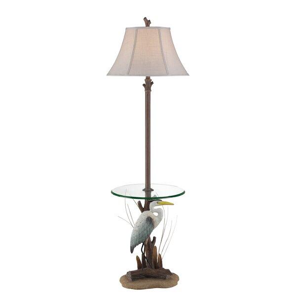 Bellatrix Heron 63 LED Traditional Floor Lamp by Highland Dunes