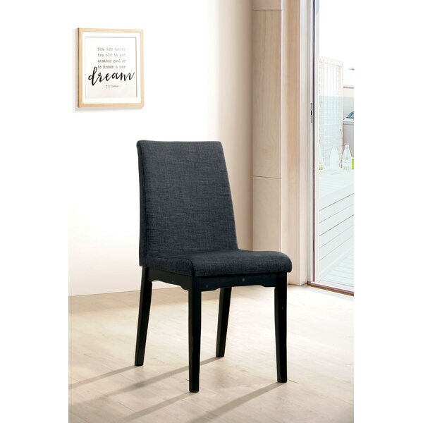 Bedelia Upholstered Dining Chair (Set of 2) by Ebern Designs