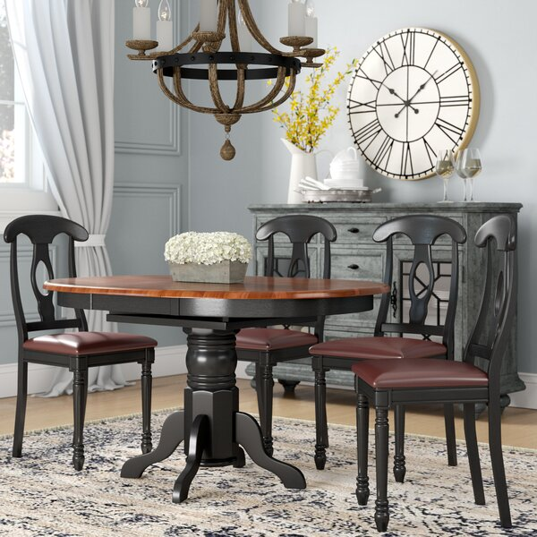 Aimee 5 Piece Extendable Dining Set by August Grove