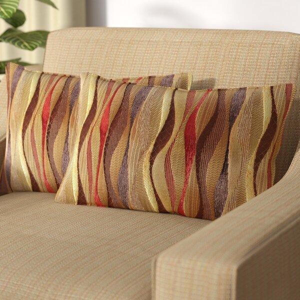 Ortega Lumbar Pillow (Set of 2) by World Menagerie