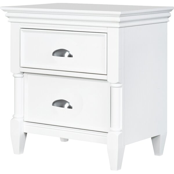 McLelland 2 Drawer Nightstand by Darby Home Co