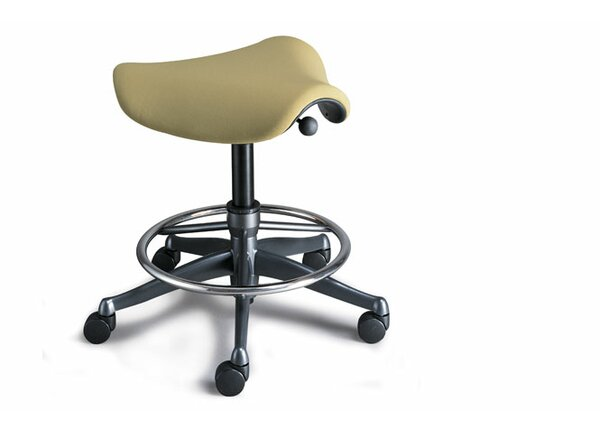 Pony Saddle Drafting Chair by Humanscale