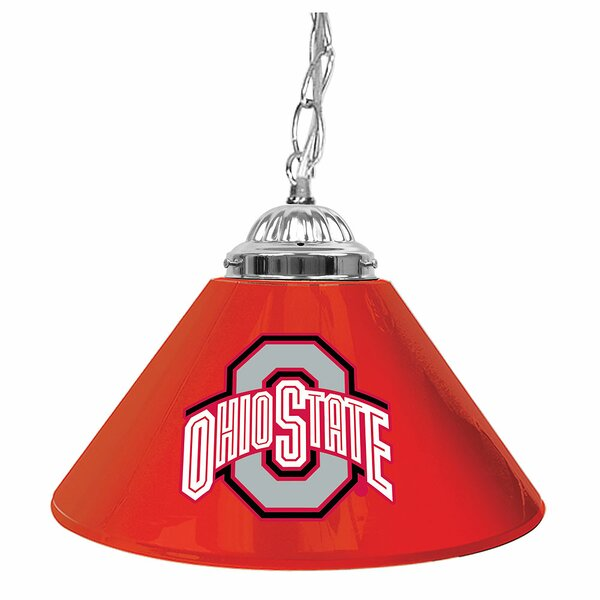 Ohio State 14 Single Shade Bar Lamp by Trademark Global