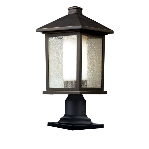 Magnusson Outdoor 1-Light Pier Mount Light by Andover Mills