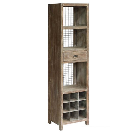 Atkins Floor Wine Cabinet by Union Rustic