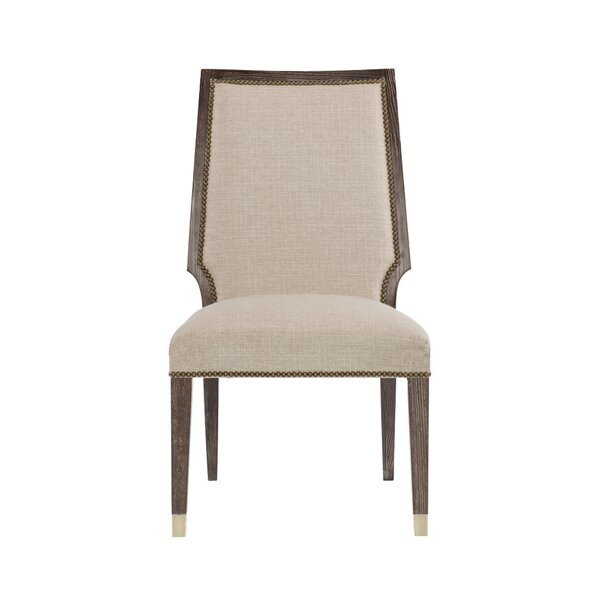 Clarendon Upholstered Dining Chair In Oatmeal (Set Of 2) By Bernhardt