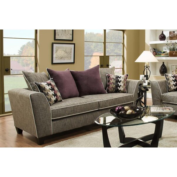 Find A Wide Selection Of Teterboro San Miguel Char Sofa by Latitude Run by Latitude Run