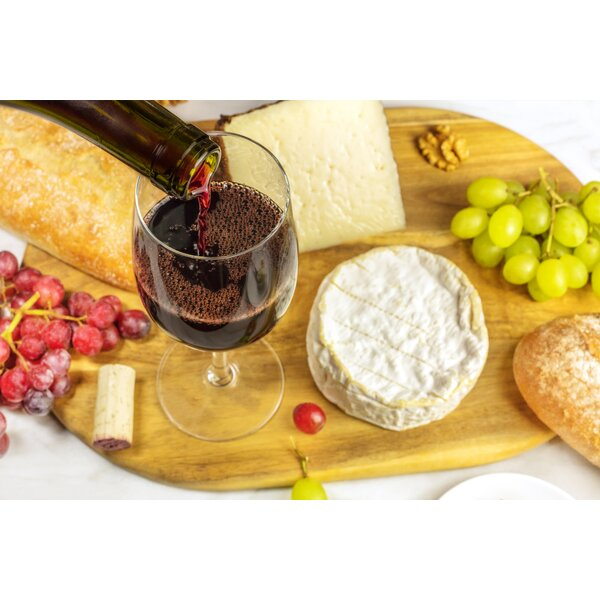 Cheese and Wine Foam Placemat (Set of 4) by East Urban Home